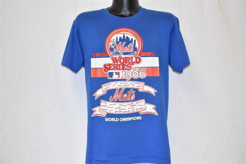 80s New York Mets World Series Champs 1986 t-shirt Large