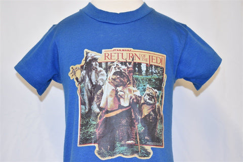 80s Star Wars Return of the Jedi Ewoks t-shirt Toddler 2T