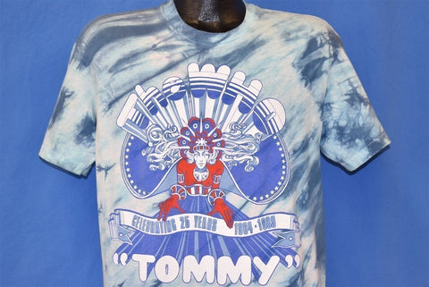 80s The Who Tommy Celebrating 25 Years Tie Dye t-shirt Large