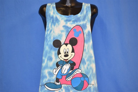 90s Mickey Mouse Tie Dye Tank Top t-shirt Extra Large