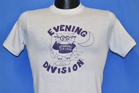 80s Stonehill College t-shirt Extra Small