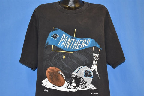 90s Carolina Panthers t-shirt Extra Large