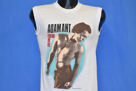 80s Adam Ant Friend or Foe Album Sleeveless t-shirt Small