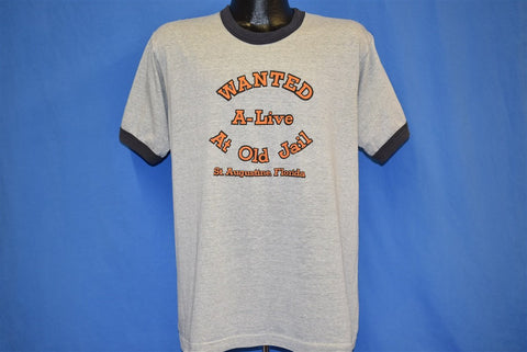 80s Old Jail St. Augustine Florida t-shirt Large
