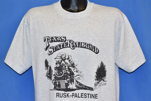 90s Texas State Railroad t-shirt Large