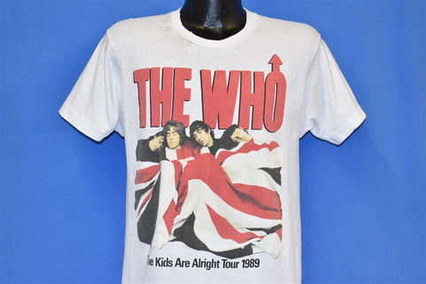 80s The Who Kids Are Alright t-shirt Medium