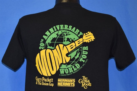 80s The Monkees 20th Anniversary Convertible t-shirt Medium