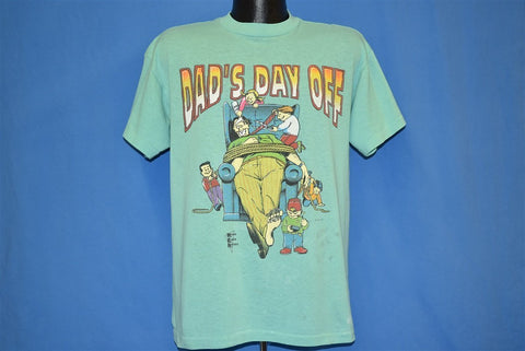 90s Dad's Day Off Funny t-shirt Large