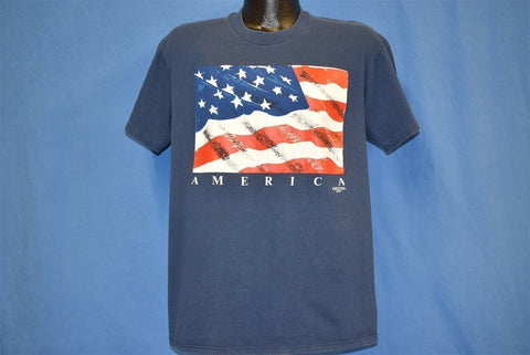 90s America USA Flag t-shirt Large