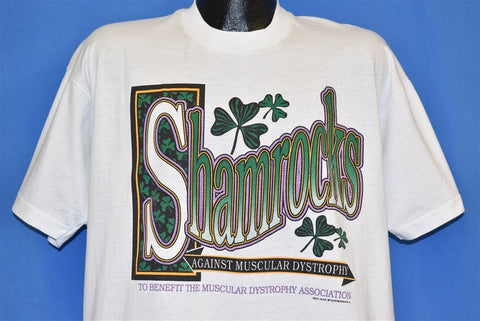 90s Shamrocks Muscular Dystrophy t-shirt Extra Large