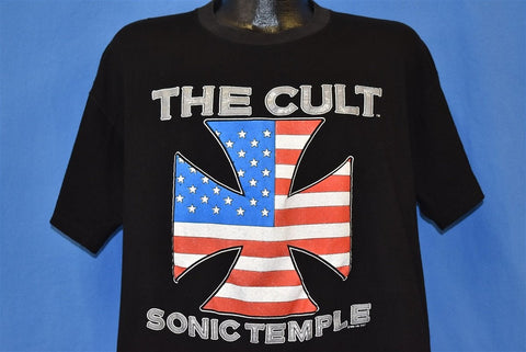 80s The Cult Sonic Temple Concert Tour t-shirt Extra Large