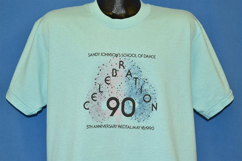 90s Sandy Johnson's School of Dance Recital t-shirt Large