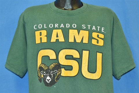 90s Colorado State Rams t-shirt Large