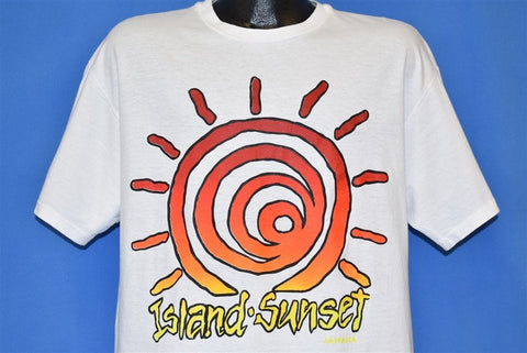 80s Island Sunset Jamaica t-shirt Extra Large
