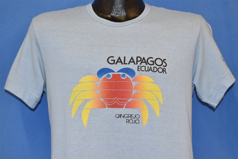 80s Galapagos Ecuador Cangrejo Rojo Red Crab t-shirt Medium