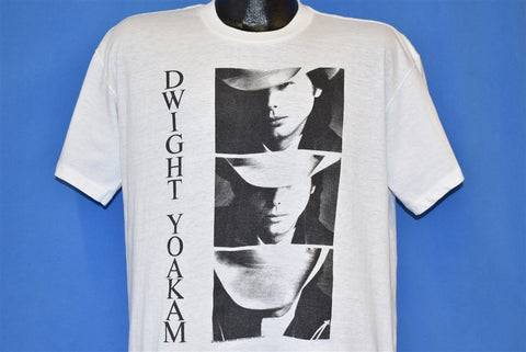 80s Dwight Yoakam Country Music Honky Tonk t-shirt Large