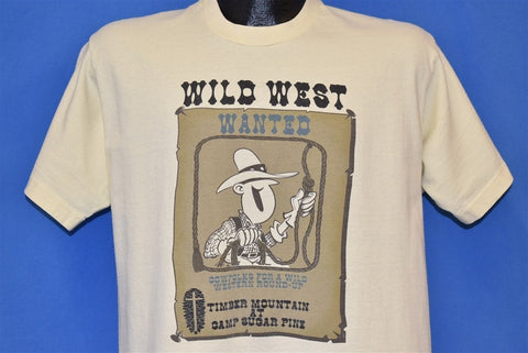 90s Timber Mountain Camp Sugar Pine Wild West t-shirt Large