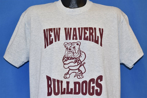 90s New Waverly Bulldogs High School t-shirt Large