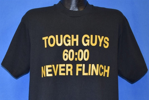 90s Tough Guys Never Flinch t-shirt Large