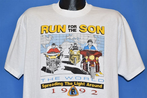 90s Motorcycle Run for Son t-shirt Extra Large