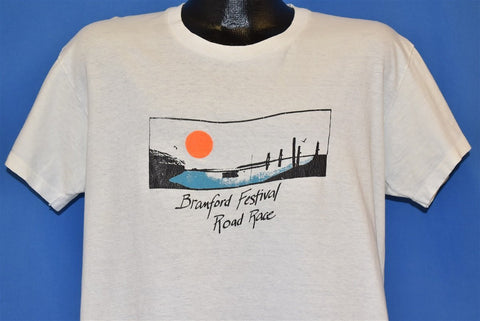 80s Branford Festival Road Race Run Sunset t-shirt Large