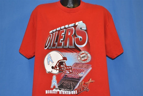 90s Houston Oilers t-shirt Extra Large