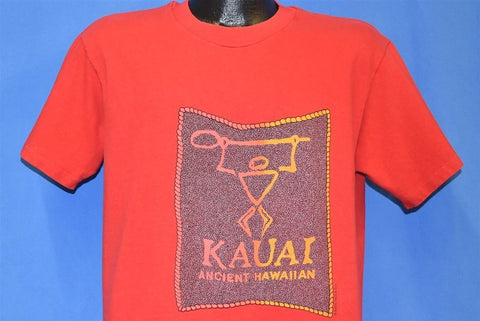 90s Kauai Hawaii Petroglyph t-shirt Large