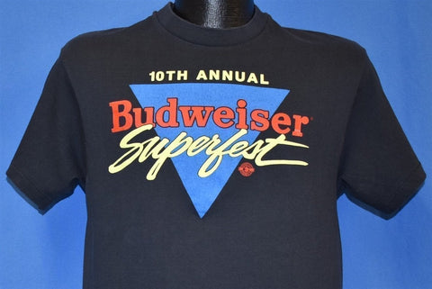 80s 10th Annual Budweiser Superfest 1989 t-shirt Medium