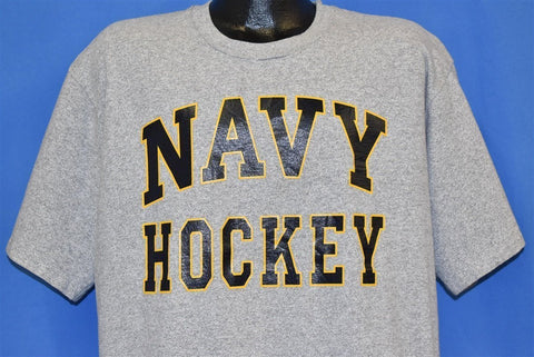 90s Navy Midshipmen Hockey t-shirt Extra Large