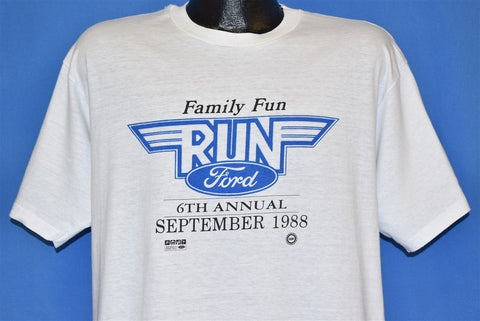 80s Ford Family Run t-shirt Extra Large