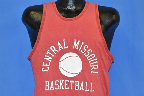70s Central Missouri Basketball Tank Top t-shirt Medium
