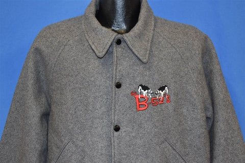 80s B-52s Cows Whammy Tour Bomber Jacket Large