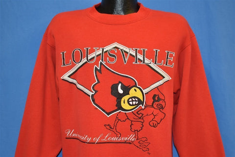 90s Louisville Cardinals Sweatshirt Medium