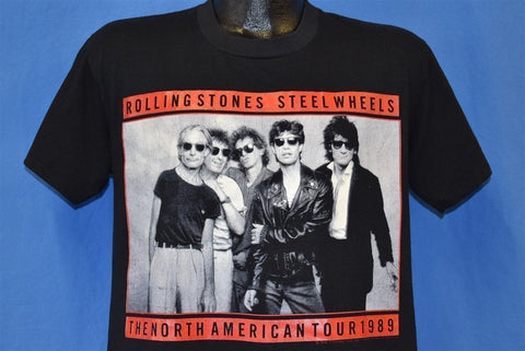 80s Rolling Stones Steel Wheels 1989 Tour t-shirt Medium
