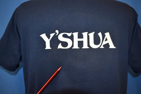 80s Y'Shua Yeshua Hebrew Name Joshua t-shirt Large