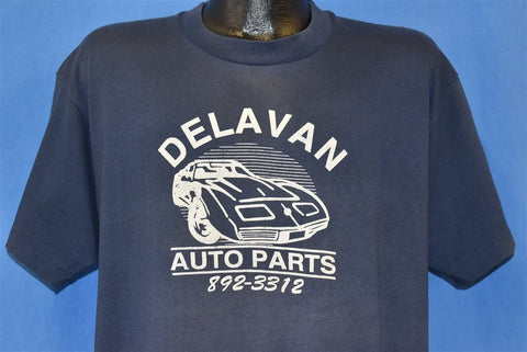 80s Delavan Auto Car Shop t-shirt Extra Large