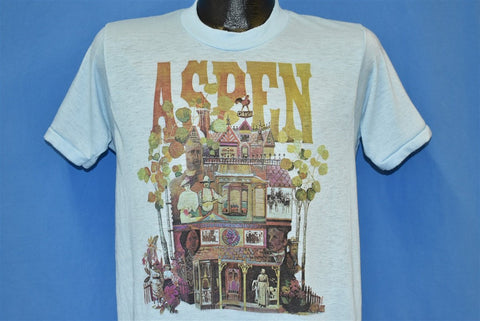 80s Aspen Victorian House t-shirt Medium