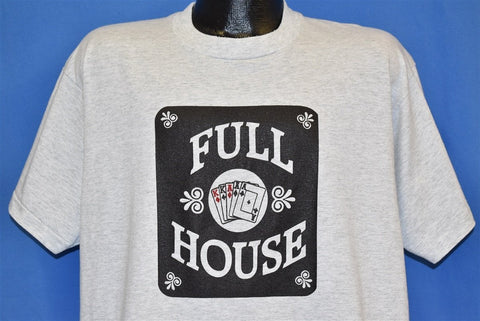90s Full House Poker t-shirt Large