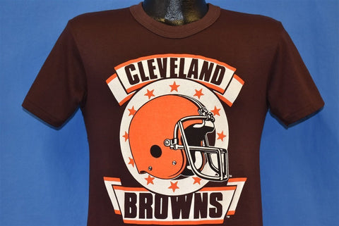 80s Cleveland Browns Helmet Football NFL t-shirt Small