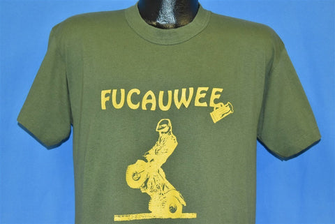 80s Fucauwee Motorcycle Club t-shirt Large
