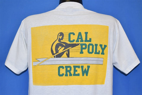 80s Cal Poly Mustangs Rowing t-shirt Large
