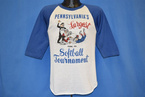 80s Pennsylvania's Largest Softball Tournament t-shirt Small