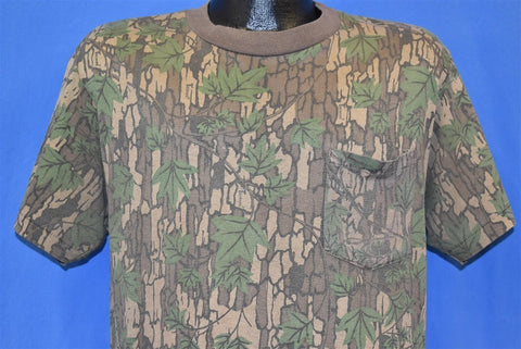 80s Trebark Camo Pocket t-shirt Large