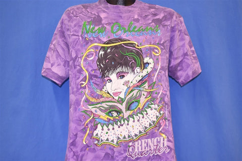 90s New Orleans French Quarter Tie Dye t-shirt Large