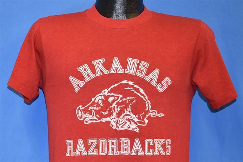 80s Arkansas Razorbacks Mascot Tusk Big Red t-shirt Small