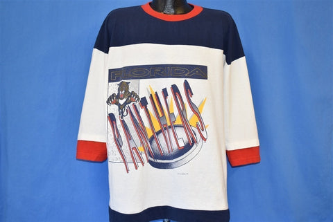 90s Florida Panthers Hockey t-shirt Large