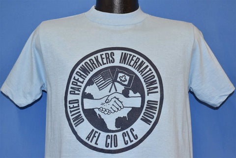 80s United Paperworkers Union t-shirt Medium