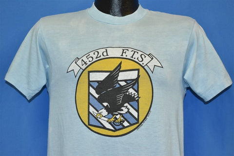 80s 452d Flight Test Squadron US Air Force t-shirt Small