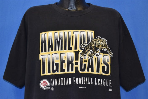 90s Hamilton Tiger Cats CFL Football t-shirt Extra Large