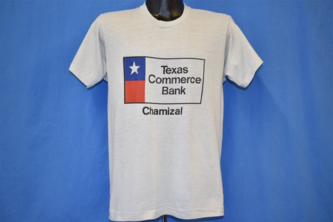80s Texas Commerce Bank t-shirt Medium